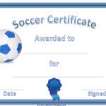 Soccer Award | Soccer Awards, Soccer, Certificate Templates For Best Soccer Certificate Template