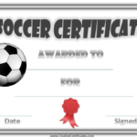 Soccer Certificate Template Free (11) – Templates Example Throughout Soccer Certificate Templates For Word