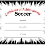 Soccer Certificate Template – Microsoft Word Templates In Soccer Certificate Templates For Word