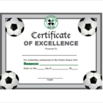 Soccer Certificate Templates For Word 1 – Best Templates With Regard To New Soccer Certificate Templates For Word