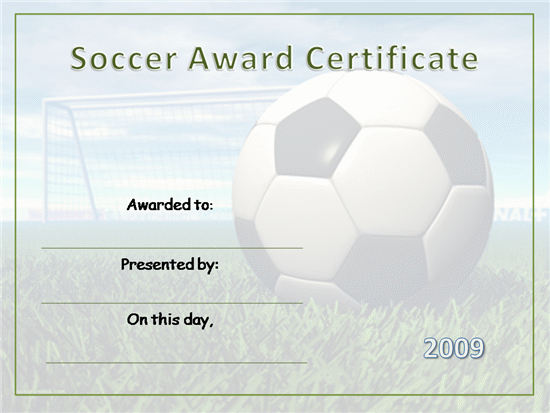 Soccer-Certificate-Templates-Printable pertaining to Soccer Certificate Template Free 21 Ideas