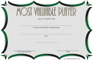 Soccer Mvp Certificate Template Free 2 In 2020 | Certificate throughout Best Soccer Mvp Certificate Template
