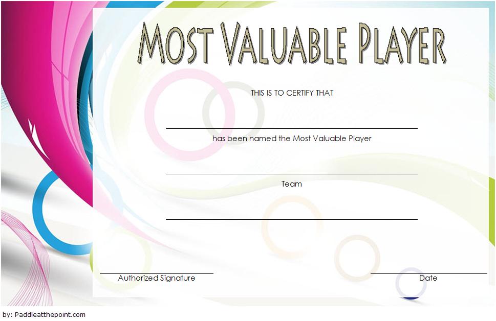 Soccer Mvp Certificate Template Free 7 | Certificate throughout Soccer Mvp Certificate Template