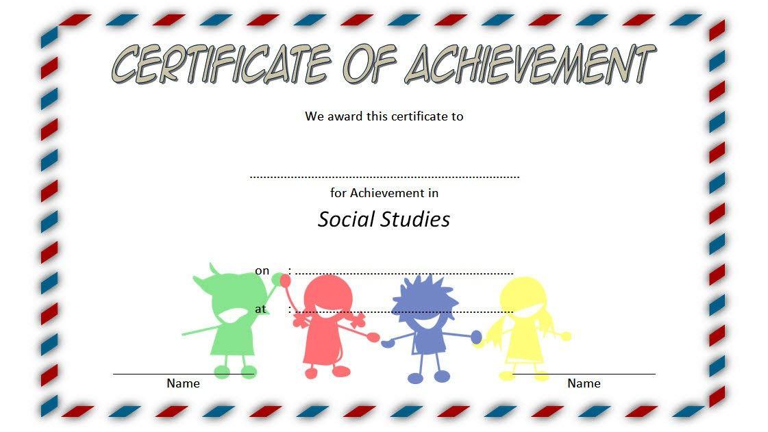 Social Studies Certificate Template 7 Free | Social Studies inside New Editable Certificate Social Studies