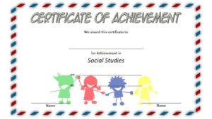 Social Studies Certificate Template 7 Free | Social Studies with regard to Fresh Social Studies Certificate