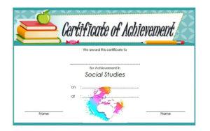 Social Studies Certificate Template 8 Free | Social Studies intended for Fresh Social Studies Certificate