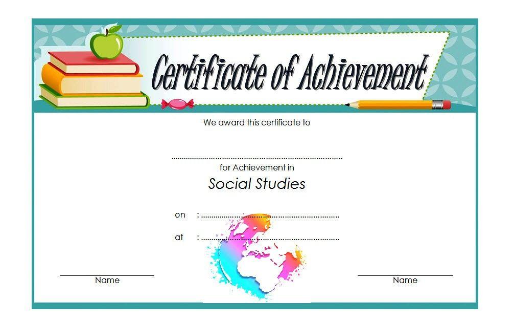 Social Studies Certificate Template 8 Free | Social Studies Regarding New Social Studies Certificate Templates
