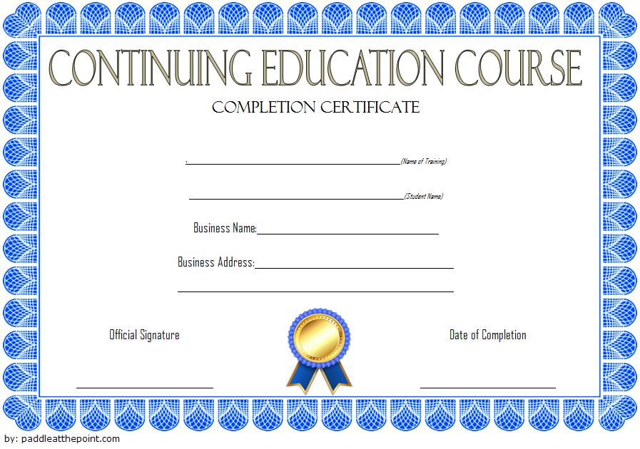 Social Work Ceu Certificate Template Free 2 | Certificate pertaining to Unique Ceu Certificate Template