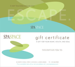 Spa Gift Certificates – Chicago Massage & Spa   Spa Space pertaining to Spa Gift Certificate
