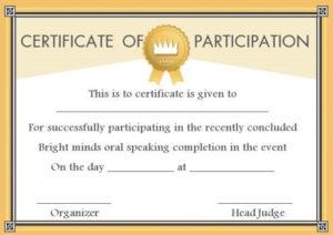 Speech Contest Winner Certificate Template: 10 Free Pdf with Best Handwriting Certificate Template 10 Catchy Designs