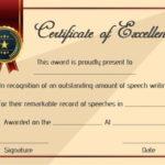 Speech Contest Winner Certificate Template: 10 Free Pdf with Quality Contest Winner Certificate Template