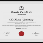 Sports Award Certificate Template Word (7) – Templates Within Sports Award Certificate Template Word