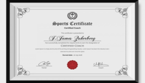 Sports Award Certificate Template Word (7) – Templates within Sports Award Certificate Template Word