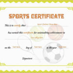 Sports Certificate Template For Ms Word Download At Http Within Sports Day Certificate Templates