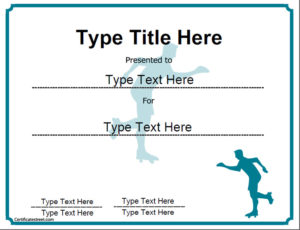 Sports Certificates – Award Template Of Achievement In inside Ice Skating Certificates