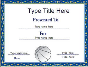 Sports Certificates – Netball Certificate Template throughout New Netball Achievement Certificate Editable Templates