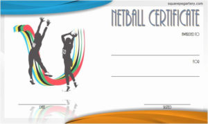 Sports Certificates Templates Free Download Unique Netball for Best Netball Certificate Templates Free 17 Concepts
