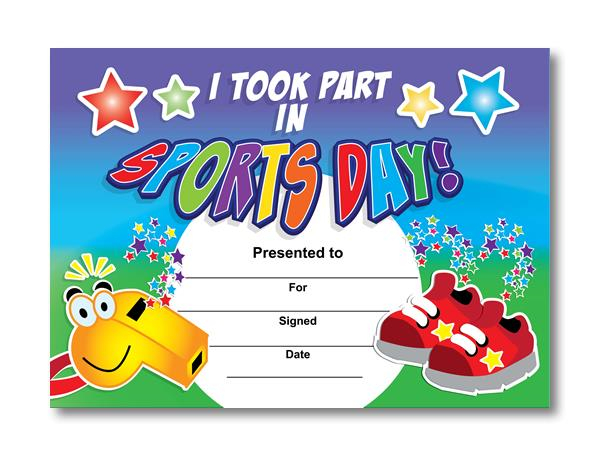 Sports Day Certificate Templates Free (1) - Templates intended for Sports Day Certificate Templates