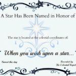 Star Naming Certificate Template | Certificate Templates Inside Unique Star Naming Certificate Template