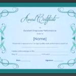Star Performer Certificate Templates (1) – Templates Example For Quality Star Performer Certificate Templates