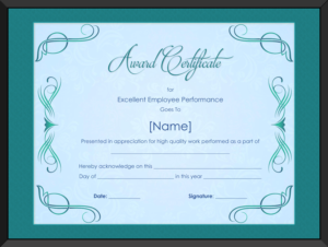 Star Performer Certificate Templates (1) – Templates Example for Quality Star Performer Certificate Templates