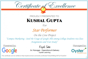 Star Performer Certificate Templates 5 – Best Templates intended for Star Performer Certificate Templates