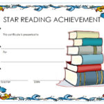 Star Reader Certificate Template Free 1 | Reading Awards Regarding Star Reader Certificate Templates