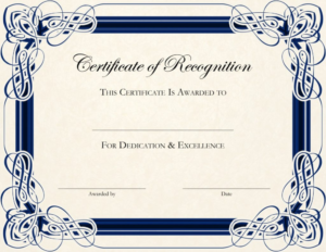 Stock Certificate Template Word Ideas Templates Free regarding Unique Blank Certificate Templates Free Download