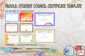 Student Council Certificate Template Free Download | Student with Physical Education Certificate 8 Template Designs