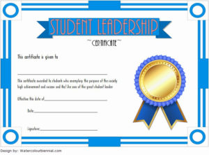 Student Council Certificates Template Best Of Student intended for New Student Council Certificate Template