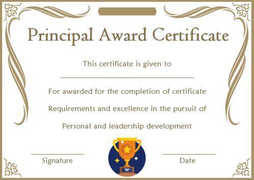 Student Leadership Certificate: 10+ Best Student Leadership pertaining to Leadership Award Certificate Templates