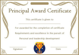 Student Leadership Certificate: 10+ Best Student Leadership throughout Best Leadership Award Certificate Template