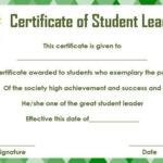 Student Leadership Certificate: 10+ Best Student Leadership With New Student Leadership Certificate Template