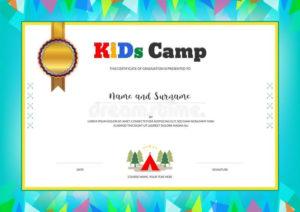Summer Camp Certificate Template In 2020 | Summer Camps For with Certificate For Summer Camp Free Templates 2020
