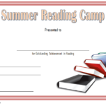 Summer Reading Certificate Template Free 2 throughout Summer Reading Certificate Printable