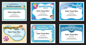 Swimming Certificates Templates | Swim Awards | Swimming Coach regarding Fresh Swimming Certificate Templates Free