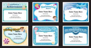 Swimming Certificates Templates | Swim Awards | Swimming Coach throughout Swimming Certificate Template