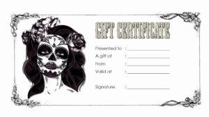 Tattoo Gift Certificate Template Inspirational Tattoo Gift inside Unique Fishing Certificates Top 7 Template Designs 2019