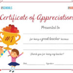 Teacher Appreciation Certificate   Parenting   Sunday School Pertaining To Quality Teacher Appreciation Certificate Free Printable