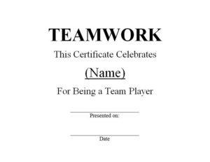 Teamwork Award 1 | Free Word Templates Customizable Wording throughout Fresh Free Teamwork Certificate Templates