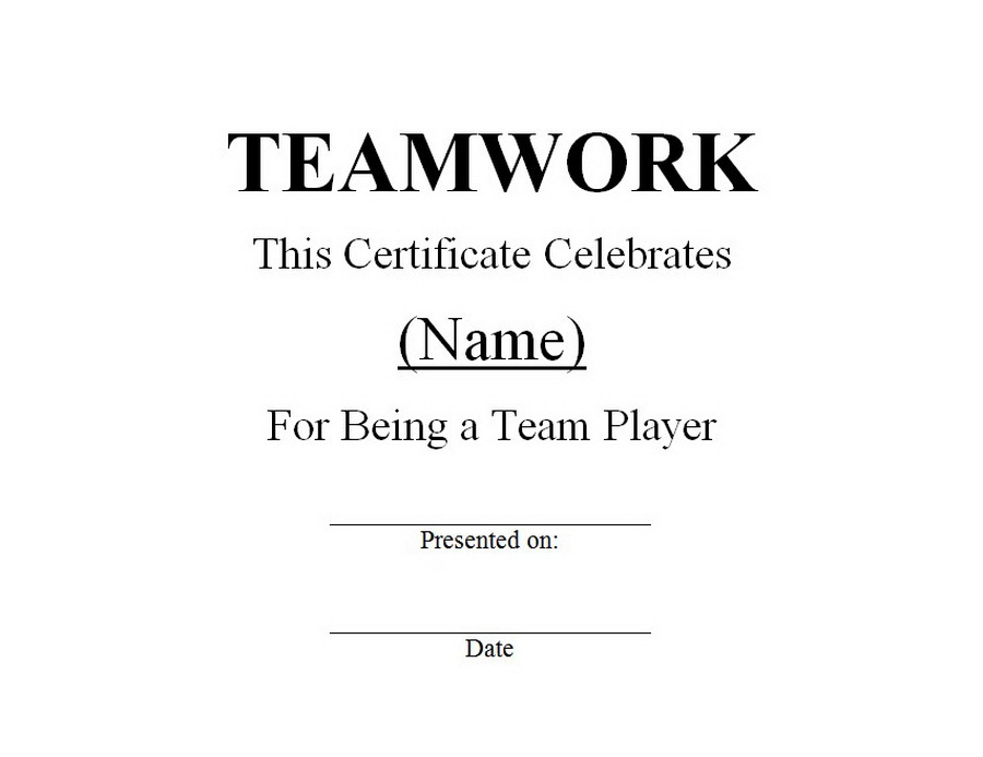 Teamwork Award 1 | Free Word Templates Customizable Wording throughout Unique Free Teamwork Certificate Templates 10 Team Awards