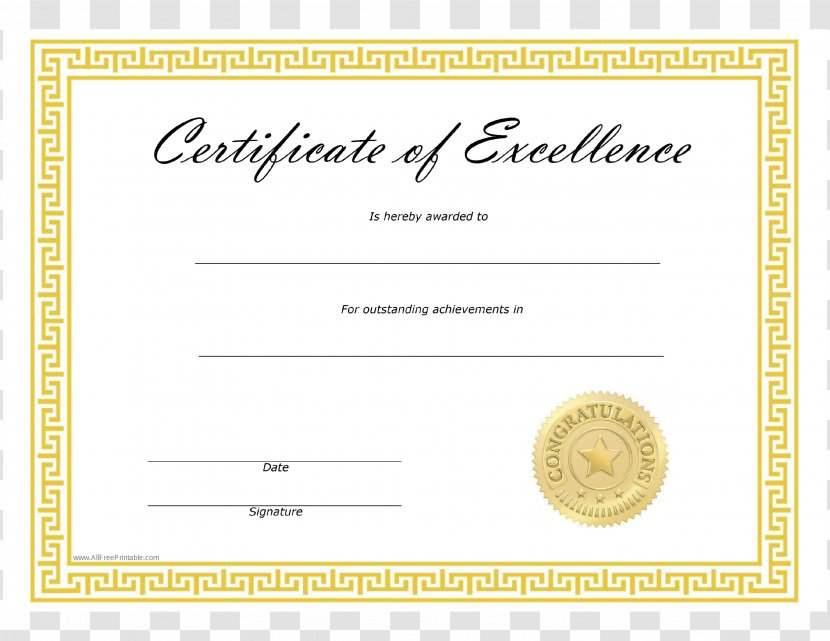 Template Microsoft Word Excellence Academic Certificate in Best Academic Certificate