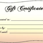 Templates For Gift Certificates Free Downloads Intended For In Baby Shower Gift Certificate Template Free 7 Ideas