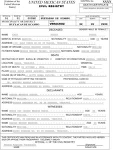 Templating As A Strategy For Translating Official… – Meta in Death Certificate Translation Template