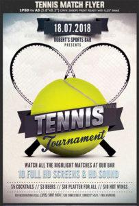 Tennis Flyer Templates – Free & Premium Psd Ai Png Eps Downloads regarding Quality Table Tennis Certificate Templates Free 10 Designs