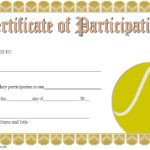 Tennis Participation Certificate Template Free 5 For New Printable Tennis Certificate Templates 20 Ideas