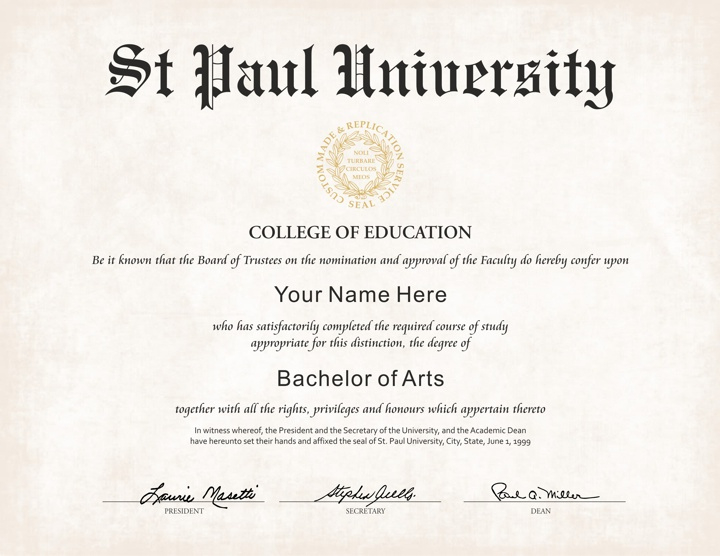 The Best Collection Of Diploma Templates For Every Purpose. inside College Graduation Certificate Template