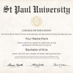 The Best Collection Of Diploma Templates For Every Purpose. With University Graduation Certificate Template