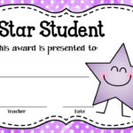 These Editable Star Student Awards Will Come In Handy! Type for Unique Star Student Certificate Template