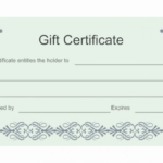 This Entitles The Bearer To Template Certificate (9 For This Certificate Entitles The Bearer Template